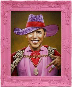 Scott Scheidly Obama