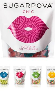 Sugarpova. #packaging #candy #lips