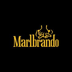 Marlbrando #brand #parody #logo