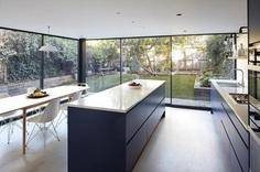 Hugo Road Houseby Robert Rhodes Architecture + Interiors, kitchen