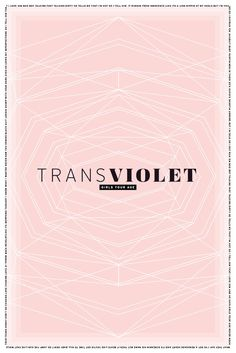 Music Poster design, band poster, modern graphic design poster, graphic design, poster, pink, transviolet, music, spotify