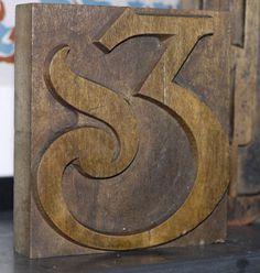 Woodcut Poynder Ampersand