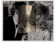 why not? » John Stezaker #stezaker #juxtapositions #photography #john