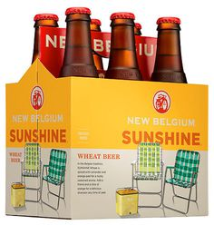 New Belgium Sunshine #packaging #beer