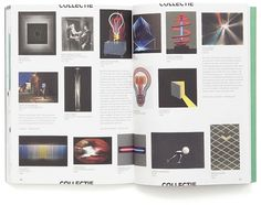 kunstlicht_spread_collectie.jpg (800×632) #print #design #graphic #publication