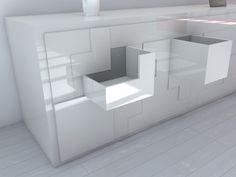 """Space Saving Sideboard """"T@tris"""" #furniture"""