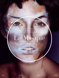 Le Masque | Volt Café | by Volt Magazine #beauty #design #graphic #volt #photography #art #fashion #layout #magazine #typography