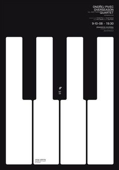 Skakala; poster designs #music #piano #concert #keyboard