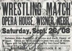 CatchWrestlingAd.jpg (imagen JPEG, 609 × 434 píxeles) #wrestling #type #vintage