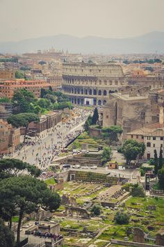 CJWHO ™ (Amphitheatrum Flavium, Rome, Italy The Colosseum...) #rome #landscape #colosseum #photography #architecture #italy