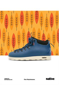 Native Shoes Native Shoes #design #graphic #poster