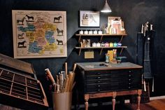 Google Reader (316) #ink #print #workshop #screen #printing #studio #workspace #organized