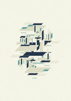 Marius Roosendaal—MSCED '11 #flat #design #dimensional #vector