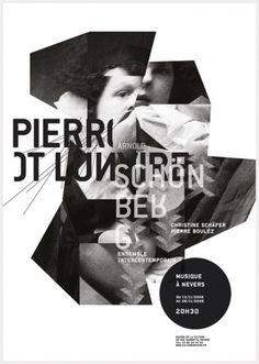 3 Affiches - AMELIE WAGNER • Graphic Design & more #white #design #graphic #black #poster #and