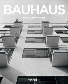 Bauhaus. Libros TASCHEN #book #cover #bauhaus #clean #simple