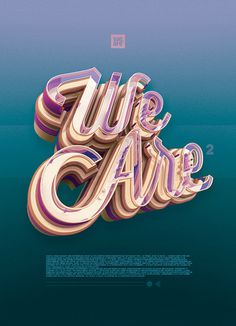 We Are 2 / 0713 on Behance #3d