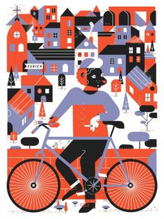 BLDGWLF - Part 3 #illustration #bicycle