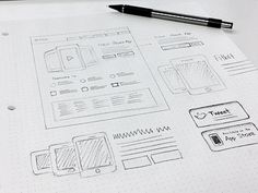 Sketch #wireframe #scribble