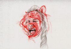 Wildlife V Art Print #illustration #society #6