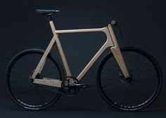 Wooden Bicycle – Fubiz™ #wood #bicycle