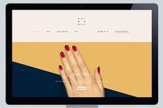 Lotta Nieminen | Paintbox #website #interactive #typography