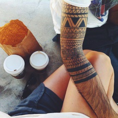 Fall mood – Arm Tattoo
