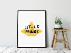 Little Prince Kids Scandinavian Wall Art 4