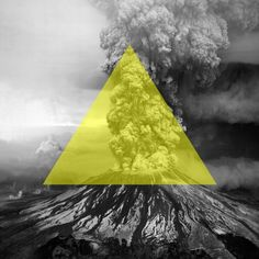 All sizes | Untitled | Flickr - Photo Sharing! #white #smoke #yellow #black #image #volcano