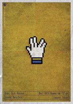 H-and Movie #movie #and #design #sci #fi #gerald #vintage #poster #web #prosperity #bear #peace #hand