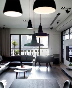 Dark and Moody Apartment Interior asian minimalism interior decor