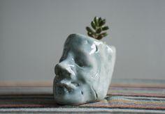 claudia sasaki #plants #design #terrarium #home #sculptures #art #pottery