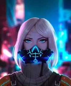 Art Book for a Cyberpunk, Kiba Aodhan
