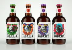 Trophy Beer (Concept) on Behance #packaging #beverage