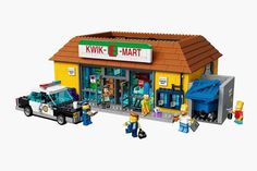 The Kwik-E-Mart From The Simpsons Lego – Fubiz™ #simpsons #kwik-e-mart #lego #the