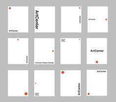 New Logo and Identity for ArtCenter #arts #college #university #logo #identity #minimal #helvetica #layout #system #flexible