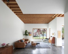 living room, Measured Architecture
