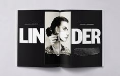 Magazine, editorial, typography, design, print