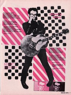 All sizes | Smash Hits, February 22, 1979 - p.07 | Flickr - Photo Sharing! #music #graphic #color #elvis costello
