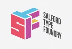 Creative Review Salford Type Foundry #university #salford #logo #foundry #type #typography