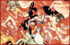red carpet by *duss005 on deviantART #red #girl #head #illustration #comics