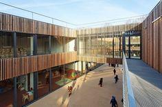 Architecture Photography: School Center Lucie Aubrac / Dietmar Feichtinger Architectes School Center Lucie Aubrac / Dietmar Feichtinger Architectes †#architecture