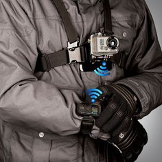 Wi-Fi Remote for GoPro Cameras #camera #gadget #go #remote #pro #control