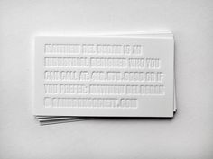 Print inspiration #deboss #blind deboss