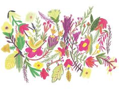 BOSQUE Estudio/Taller La Rebelión de las Masas - #illustration #pattern #flowers