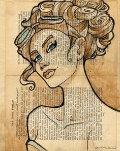 The Iron Woman by Karen Hallion | Cuded #the iron woman #karen hallion