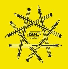FFFFOUND! | but does it float #logo #yellow #pen #branding