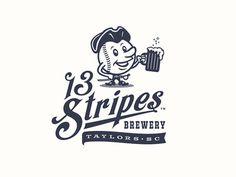 brewery, design, ball, revolution, 13, stripes