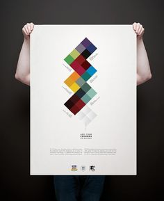 Dulux Colour Awards on the Behance Network #infographic #poster #pattern #colours