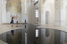 CJWHO ™ (Romain Crelier | La Mise en Abîme Entitled La...) #sculpture #romain #installation #design #interiors #art #reflections #crelier