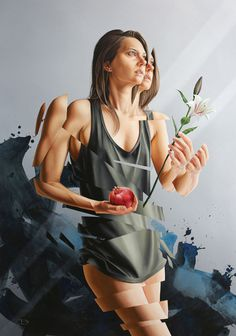 Paintings by James Bullough